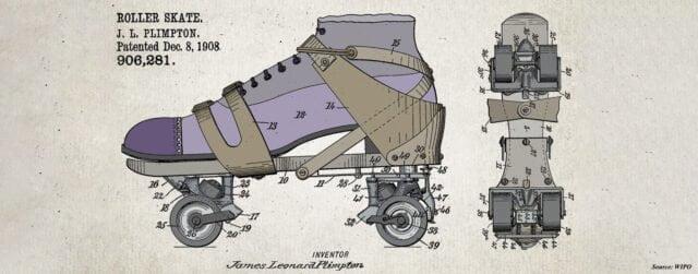 istoria patinelor cu rotile schiță james plimpton